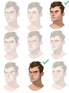 Human Faces  ★ || CHARACTER DESIGN REFERENCES (https://www.facebook.com/CharacterDesignReferences & https://www.pinterest.com/characterdesigh) • Love Character Design? Join the Character Design Challenge (link→ https://www.facebook.com/groups/CharacterDesignChallenge) Share your unique vision of a theme, promote your art in a community of over 25.000 artists! || ★