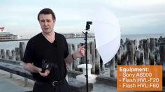 Off-Camera Flash on Location - Sony Alpha Tutorial