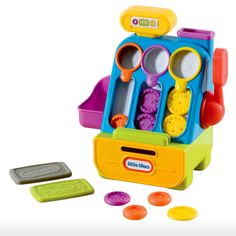 Little Tikes Toys > 24m-5y > Count 'n Play Cash Register | VIDEO. To view more Little Tikes toys, visit http://www.yellowgiraffe.in/little-tikes-toys #toys #children #kids #littletikes