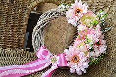 ružový veniec na dvere - typ 3