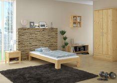 Klassisches und trotzdem modernes Kieferbett Decoration, Furniture Design, New Homes, Inspiration, Bed, Interior, Home Decor, Chic, Pine