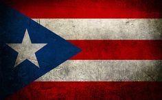 "Puerto Rico , Puerto Rican Flag 24""x36"" Canvas Wall Art Print"