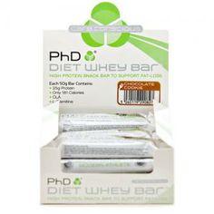PhD Nutrition Diet Whey Bars (12x50g)