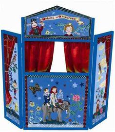 Houten poppenkast Nathalie Lete - Donk-ToyShop