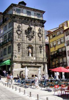 Porto. Cais de Ribeira, Portugal