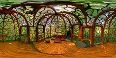 Room in Sculpture Park in Dietikon, Switzerland by architect, Bruno Weber. Beautiful Architecture, Architecture Design, Green Architecture, Casa Retro, Interior And Exterior, Interior Design, Boutique Deco, Earth Homes, Earthship