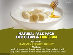 Video Recipe Bananas are one of the most commonly used fruits in the world for many good reasons. Banana is packed with some vital vitamins and nutrients that make banana face masks extraordinary beauty fix. Bananas protect our skin from free radicals and therefore delay the aging process. Some people