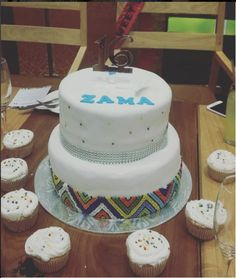 Zulu Sweet 16's Cake