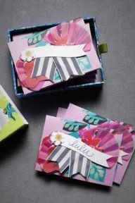 crafty place cards