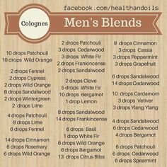 Here are some DIY cologne ideas for men. If you want them stronger you can double the drops.fill with fractionated coconut oil. In cologne based items I noticed they use vodka instead of FCO so you can play with it. Essential Oil For Men, Oils For Men, Essential Oil Scents, Essential Oil Perfume, Essential Oil Diffuser Blends, Doterra Essential Oils, Young Living Essential Oils, Aromatherapy Diffuser, Diy Beard Oil