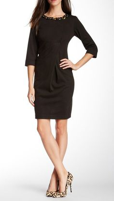 love this black dress for the holidays