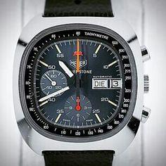 Heuer Lemania 5100 Silverstone automatic chronograph