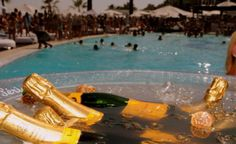 Ocean Club Champagne Spray Party Marbella Beach Club, Puerto Banus, Ocean Club, Luxury Lifestyle, Live Life, Champagne, Spain, Places, Outdoor Decor