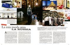 Anna Molinari and her latest experience in Saint Petersburg, on the occasion of the Blugirl Fall Winter 2016/17 Fashion Show at the Museum of Ethnography. • GRAZIA, Italy - June 9, 2016