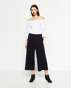 Image 1 of CONTRAST JUMPSUIT from Zara