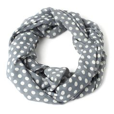 Appia Scarf Dots Gray