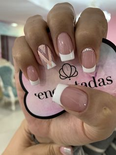 J Nails, Love Nails, Manicure And Pedicure, Pretty Nails, Hair And Nails, Classy Nails, Simple Nails, Hello Nails, Short Gel Nails