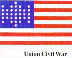the civil war union flag