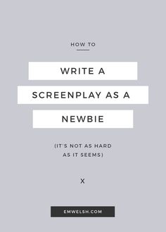 I believe that were Hemingway alive today, he would be a screenwriter. Void of the adverbs and adjectives, the screenplay is known for being the foundation of a feature film to most, but to others it is a format that strips all creativity from the writer, forcing them to write short, boring