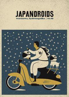 Japandroids - gig poster - Talkseek