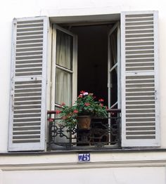 I really like French windows. (How they open and shut). I would have a glass home if that where plausible. For now, I'll enjoy the idea of huge french windows everywhere in my home. :)