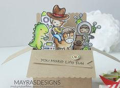 Mayras Designs: You Have A Friend In Me with Lawn Fawn, Lawn Fawn, Lawn Fawn Stamps, Lawn fawn Dies, Lawn Fawn Card, Cards, Toy Story Theme, Mayras Designs,