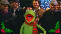 "The Muppets | Kermit Sings ""It Feels Like Christmas"" at Disneyland"
