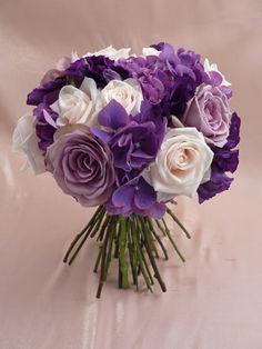 Hydrangea Bouquets | Wedding Bouquets: Hydrangea & Rose Bouquet