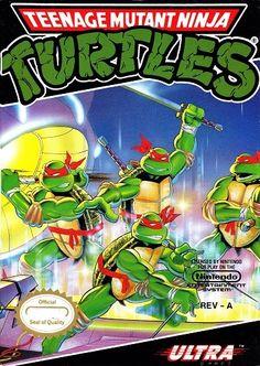 Teenage Mutant Ninja Turtles NES Used Game Cartridge   DKOldies
