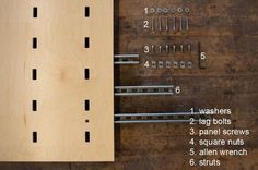 How to install | Kerf Wall