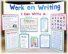 work on writing choice board