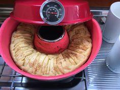 Apfelkuchen im Omnia-Backofen – Carinas Rezepte