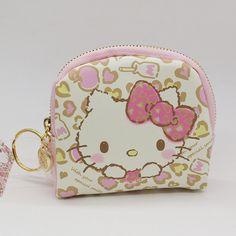 19df476a6 Hello Kitty cartoon coin purse Fashion children's purses High quality PU  wallet for girls
