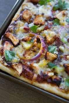 Chicken Pizza Recipes, Bbq Chicken, Shredded Chicken, Sauce Bleu, Side Dish Recipes, Dinner Recipes, Yummy Recipes, Dinner Ideas, Al Dente