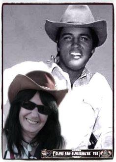 men geliefde idool Elvis & ikzelf Elvisgirl'ke tcb