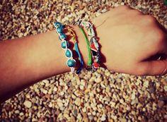 Bracelets on Etsy. <3
