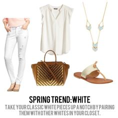 jillgg's good life (for less) | a style blog: spring trends 2014: white!