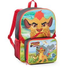 4bf10f26fe2 The Lion Guard 16 Inch Backpack with Lunch Kit - Walmart.com