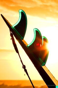 #sunset #surf #fins