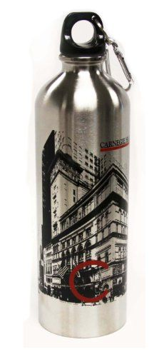 Carnegie Hall Stainless Steel Water Bottle * To view further for this item, visit the image link.(This is an Amazon affiliate link and I receive a commission for the sales)