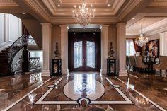 Magnificent Québec Castle – $3,295,000 mansion interior foyer marble