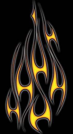 Flames by blakewise on Custom Paint job Inspirations Cool Black Wallpaper, Tribal Wallpaper, Motorcycle Paint Jobs, Chopper Motorcycle, Bobber Chopper, Flame Tattoos, Pinstripe Art, Pinstriping Designs, Flame Design