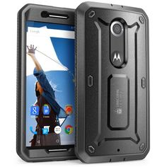 Nexus 6 SUPCASE Pro Series Full-body Protective Cover with Built-in Screen Protector Sony Phone, Cell Phone Cases, Holster, Beetle For Sale, Google Nexus, Tablets, Layers Design, Samsung Galaxy S5, 6 Case