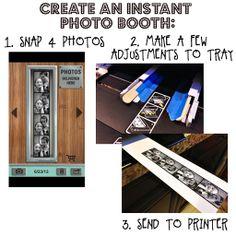 Make a Photo Booth Strip!