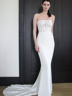 MacPherson Bluebell Bridal, Crepe Skirts, Bridal Gowns, Wedding Dresses, Peach Blossoms, Silk Crepe, Compliments, Lily, Couture