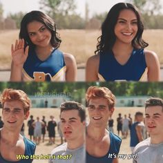 """Riverdale - """"It's my girl"""" / Archie Andrews and Veronica Lodge (KJ Apa and Camila Mendes) Memes Riverdale, Riverdale Netflix, Bughead Riverdale, Riverdale Funny, Riverdale Betty, Riverdale Season 2, Gossip Girl, Camilla Mendes, Riverdale Characters"""