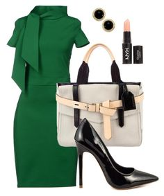 holly by lergray on Polyvore featuring мода, Dsquared2, Shoe Republic LA, Reed Krakoff and Carolee