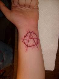 Image result for anarchy tattoo