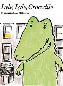 Lyle, Lyle, Crocodile, by Bernard Waber. I love Lyle I Love Books, My Books, Houghton Mifflin Harcourt, Children's Picture Books, Vintage Children's Books, Vintage Kids, Children's Literature, So Little Time, Childhood Memories