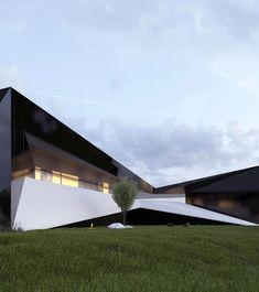 "433 Me gusta, 3 comentarios - Roman Vlasov (@_vlasov_roman_) en Instagram: ""Project/727 #romanvlasov #architecture #archilovers #modern #modernhouse #design #concept #luxury…"""